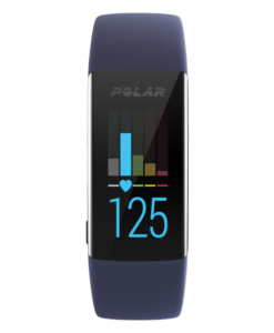 Polar A370 Fitness Tracker with Wrist-Based Heart Rate - M/L - Blue