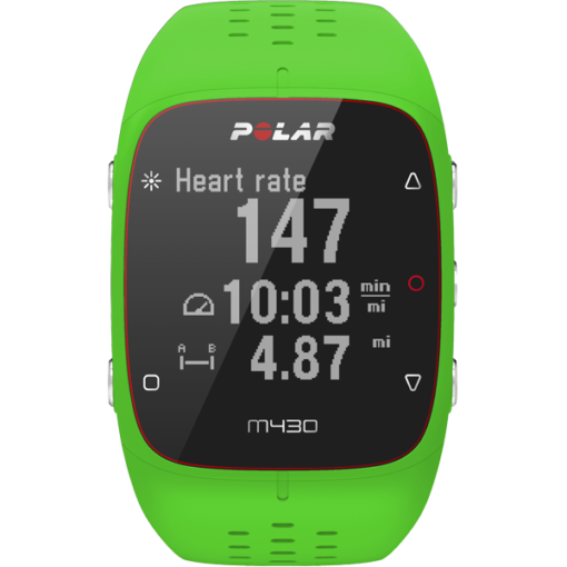 Polar M430 GPS Running Watch with Wrist-Based Heart Rate - Green