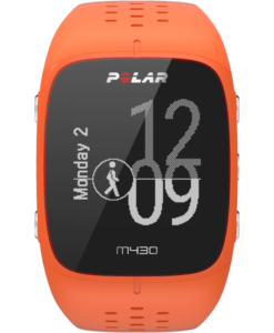 Polar M430 GPS Running Watch with Wrist-Based Heart Rate - Orange